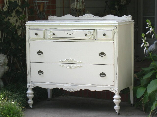free finish bureau today shipping lingerie horizon garden drawer nouvelle overstock dresser product white home venture