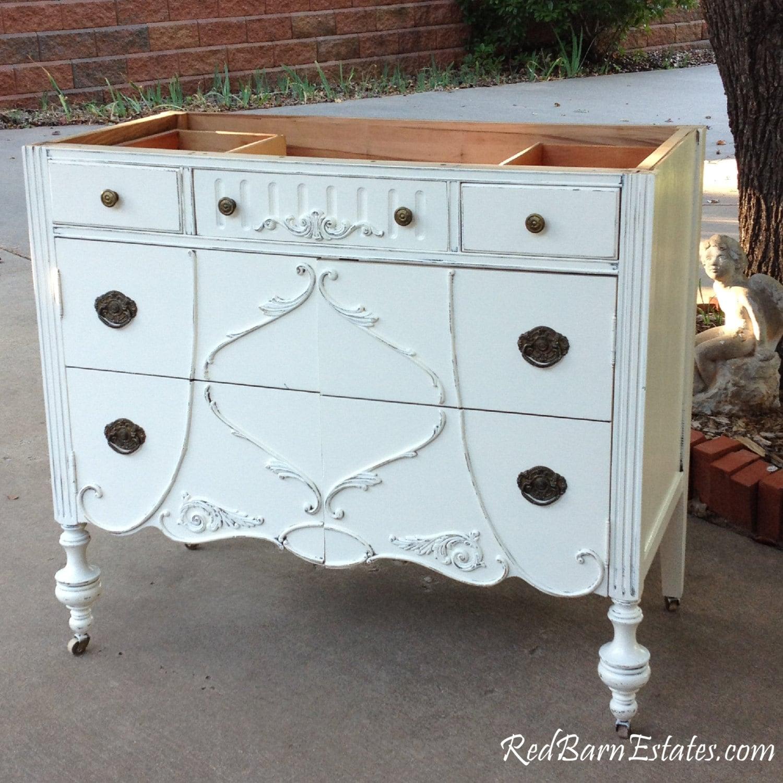 Antique BATHROOM VANITY Dresser Custom Found & Converted To Your ...