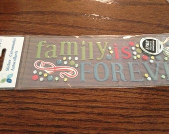 ATD Family Forever stickers