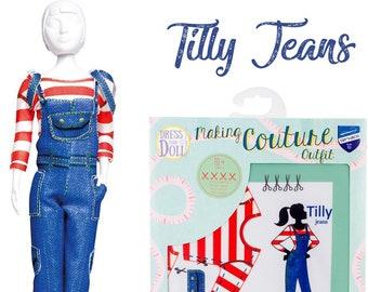 Hi Fashion Doll Clothes Sewing Kit