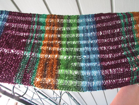 Scarf Knitting Pattern For Women Easy Lacy Scarf Knitting Etsy