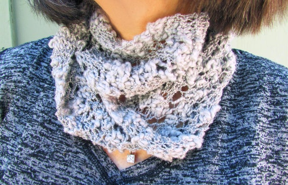 Lacy Summer Scarf Knitting Pattern Beginner Scarf Pattern Scarf