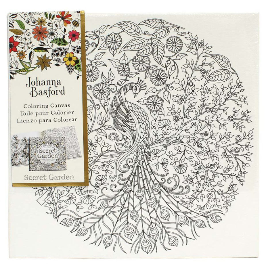 Coloring Pages For Adults Johanna Basford Canvas