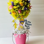 Oh the places you will go centerpiece, baby shower, birthday party decorations, centerpiece, Centerpieces, oh the places you'll go