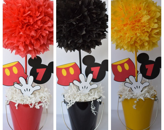 Featured listing image: Mickey Mouse Decor, Mickey Mouse, Mickey Birthday, Mickey Decorations, Mickey Party, Mickey Decoration, Mickey, Mouse, Mickey Mouse Party