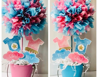 Gender Reveal Decor Etsy