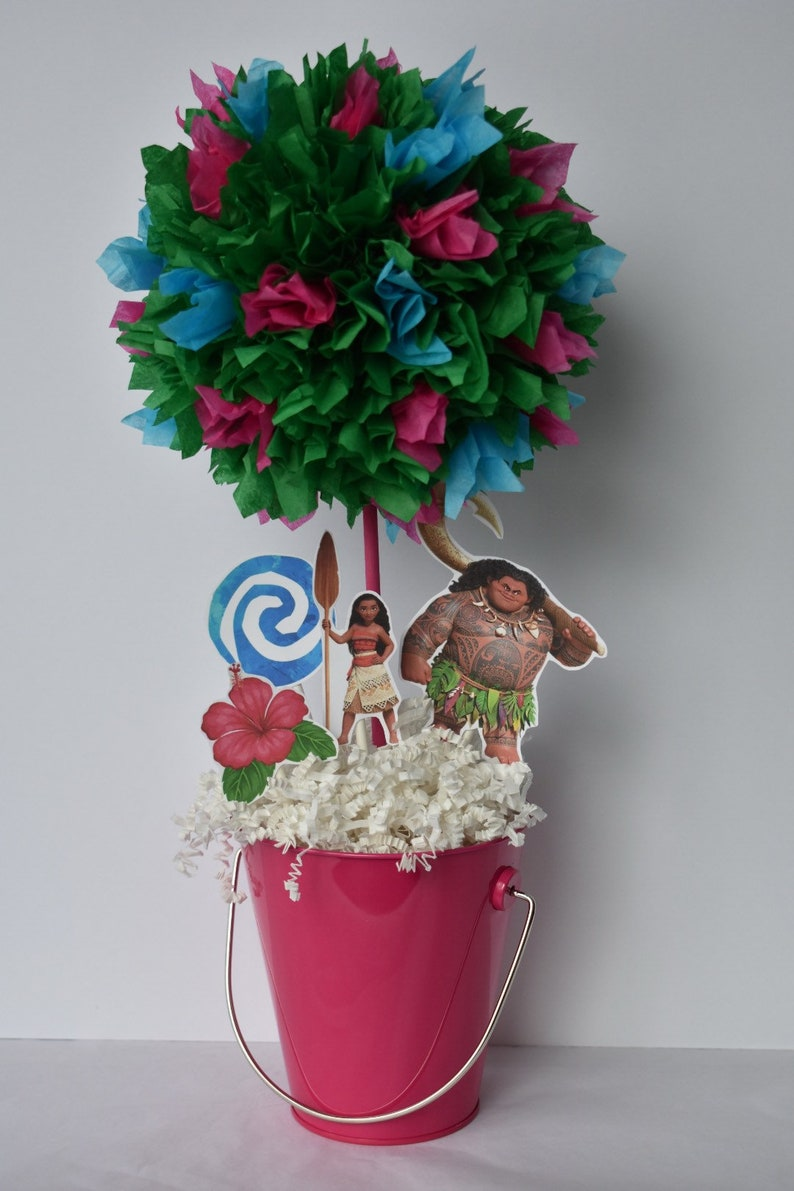 Moana Birthday Party Decoration Centerpiece Decorations