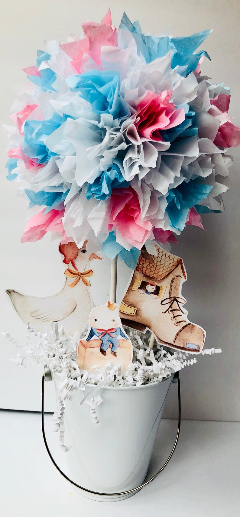Mother Goose baby shower centerpiece mother goose baby image 0