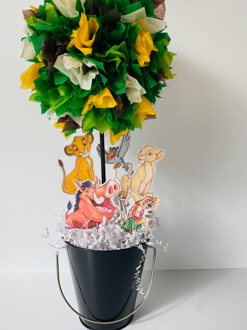 Lion king birthday party centerpiece decoration Lion King image 0