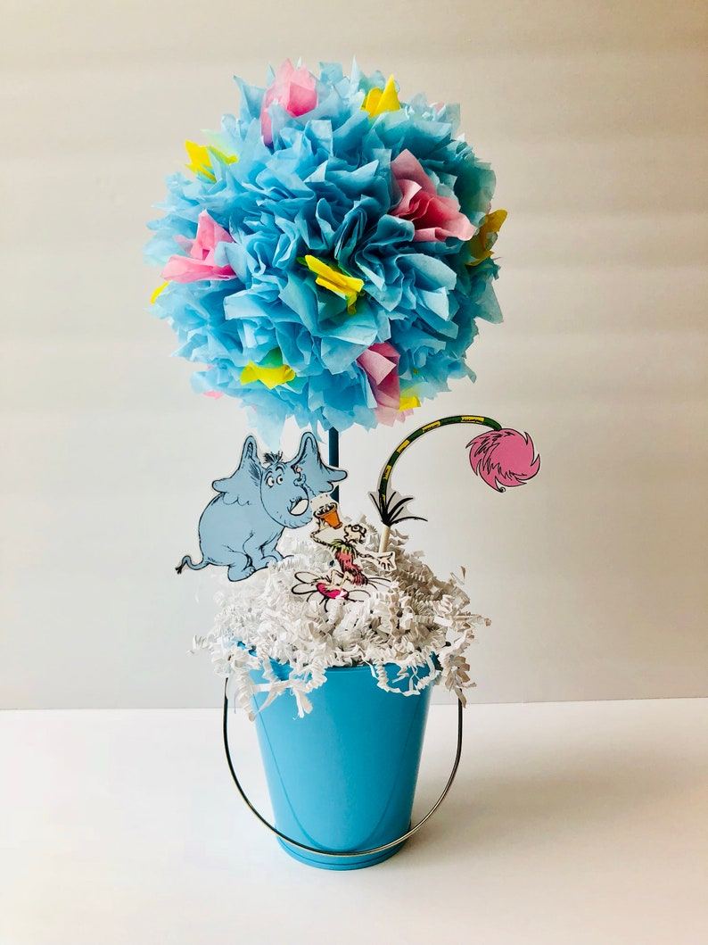 Horton hears a who centerpiece decorations baby shower image 0