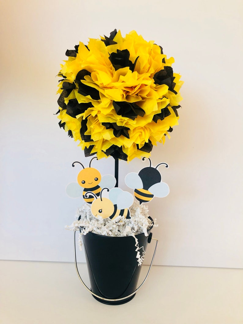 Bumble Bee Birthday Party Decoration Centerpiece Baby Shower image 0