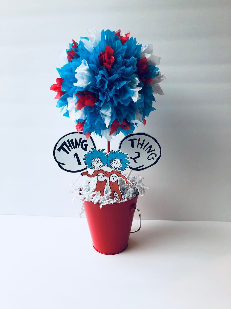 Seuss birthday party centerpiece decoration dr Seuss image 0