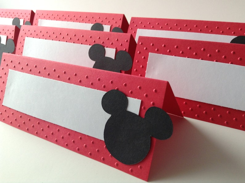Mickey Mouse Food Labels  Mickey Mouse Buffet tents Mickey image 0
