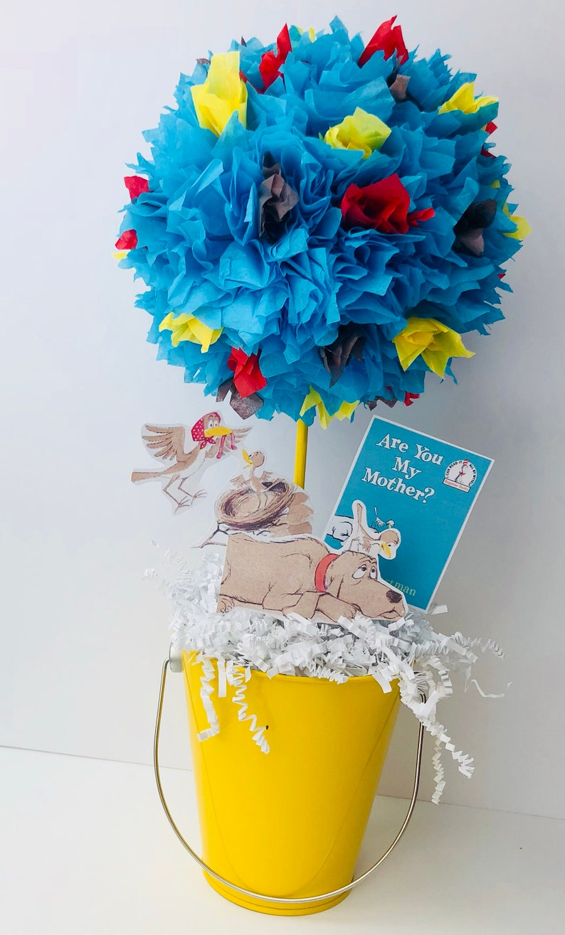 Are you my mother centerpiece baby shower decorations image 0