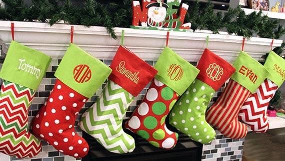 4981b2023 three christmas stockings. dashing through the snow stocking main ...