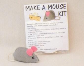 make a mouse craft kit