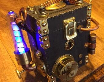 Custom Steampunk Box Unique Original Creation