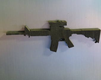 AR 15  laser cut fridge magnet