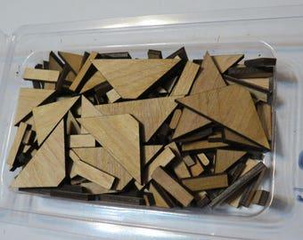 Laser cut  shapes pack for detailing models pack #6