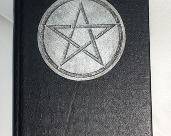 LAST and ONLY ONE Book of Shadows Black 5x7 80 lined pages