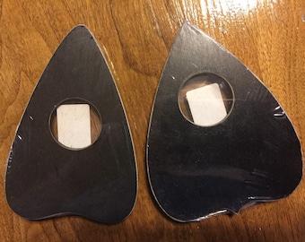 Black Wood Ouija Board Planchette-Ouija board pointer with feet- Spirit Board