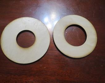 Round Blank Wood Ouija Board Planchette