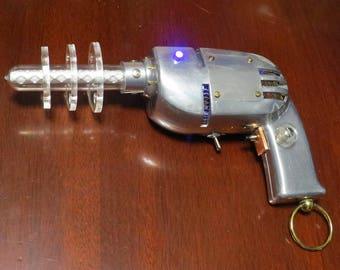 Steampunk Raygun Death Ray Pistol Cyberpunk Vintage Sci Fi