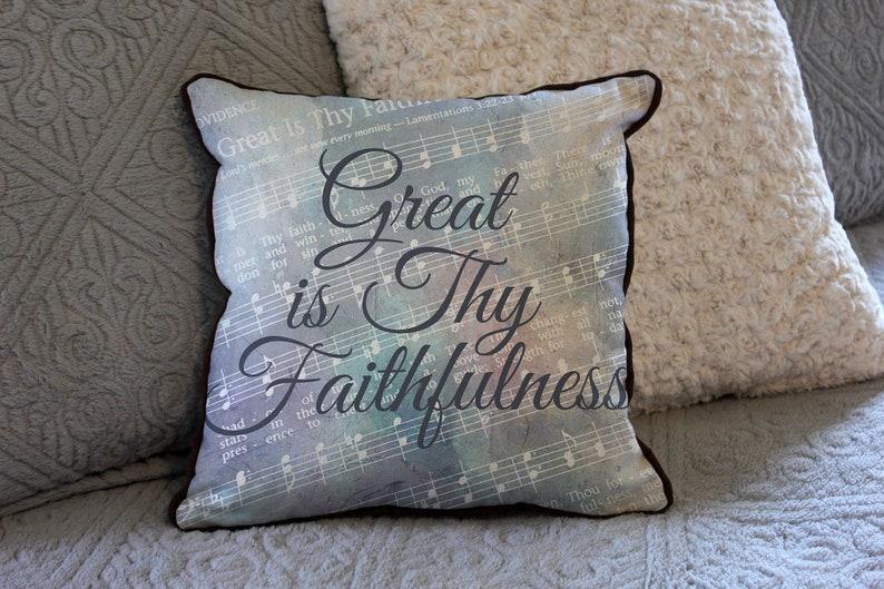 great is thy faithfulness hymn art lyrics art christian  etsy