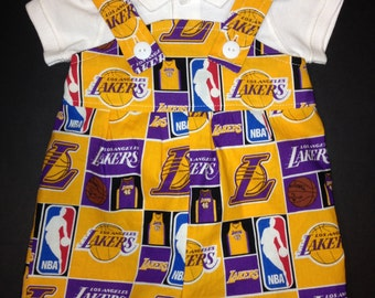 newest 4acc3 2813d Lakers baby | Etsy