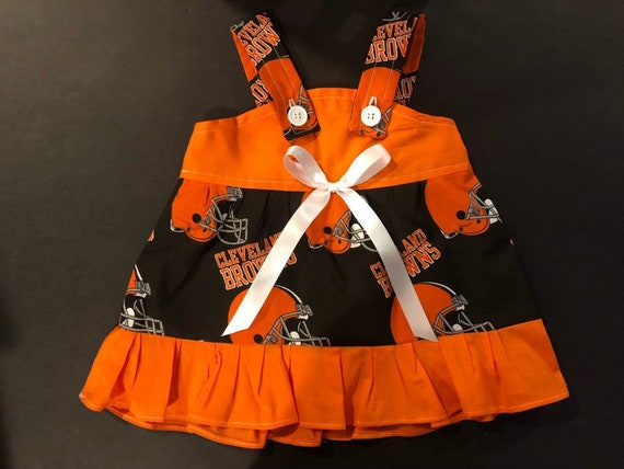 newest collection 67a6f f8031 NFL Cleveland Browns Baby Infant Toddler Girls Dress You Pick Size