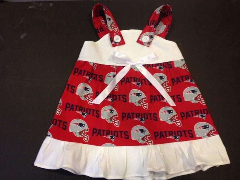 1ce35ec6 NFL New England Patriots Baby Infant Toddler Girls Dress You Pick Size