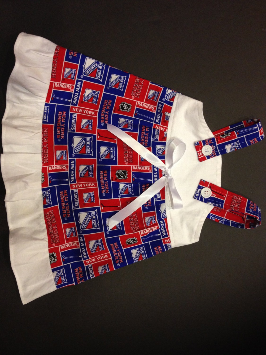 38754ffbf NHL New York Rangers hockey Baby Infant Toddler Girls Dress