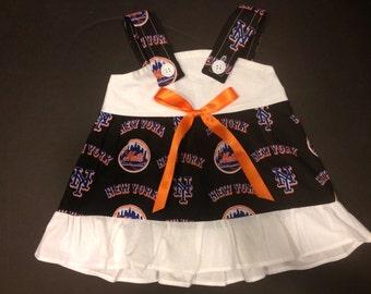 MLB New York Mets Baby Infant Toddler Girls Dress  You Pick Size