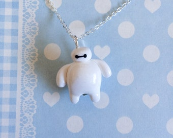 Big Hero 6 Inspired Baymax Necklace
