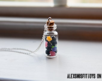 Spirited Away Soot Sprites with Candy Necklace