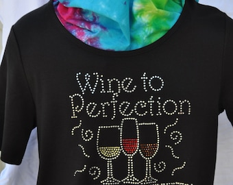 Rhinestone Bling..Wine to Perfection...Complex