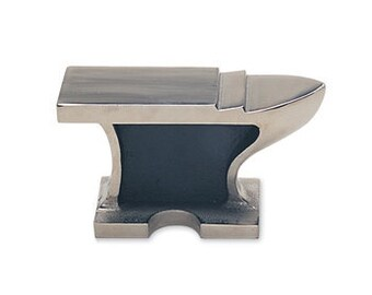 ANVIL - FLAT 3.5 Lb - Cast Steel - Great for Shaping Metal or as a Bench Block - Jewelry Tools for Metal Working - ANV-555.00