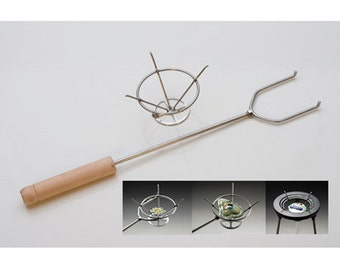 Torching Basket for Enameling - Use for Torch Enameling or Kiln Enameling - Stainless Steel - HAN-800.00