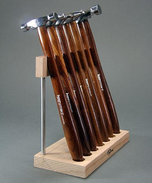 Tru Strike marteau Mini Set W/Stand - 7 Pcs Pcs Pcs Fine tête polie par Eurotool métal bijoux outil métier des outils de travail 477021