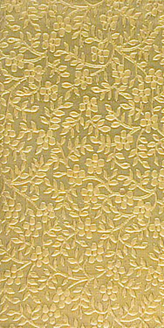 Large Bracelet Size Texture Metal or Use With Your Rolling Mill Br87 24 Gauge Textured Brass Sheet 6 X 2.5 Jewelry Metal