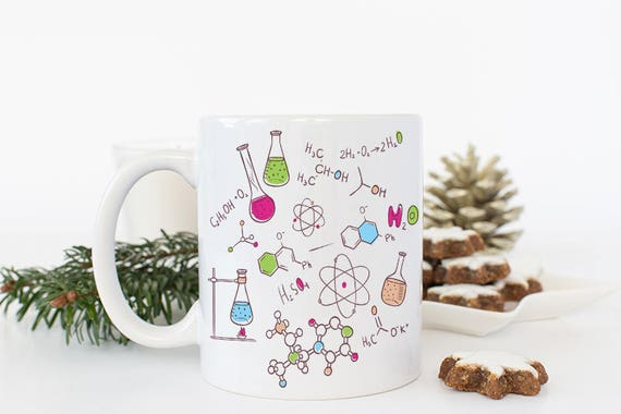 Chemistry Teacher Gifts Science Coffee Mug Chemistry | Etsy