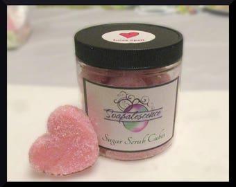 Love Spell Sugar Scrub Hearts