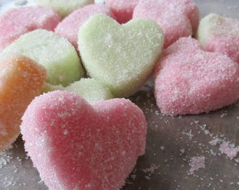 Custom Scent Sugar Scrub Cubes with Shea and Cocoa Butter