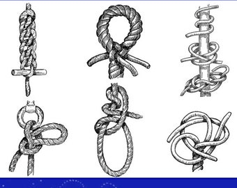 image regarding Knot Tying Guide Printable known as Knot tying consultant Etsy