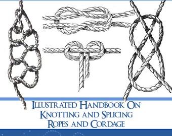 image regarding Knot Tying Guide Printable identify Knot tying expert Etsy