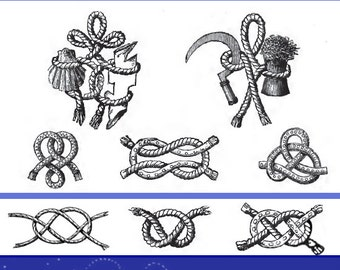 How To KNOT and SPLICE ROPES 158 Pages Illustrated Printable
