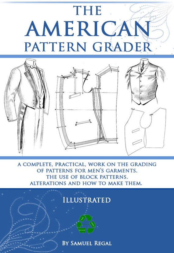 The AMERICAN PATTERN GRADER Design Your Own Mens Clothes | Etsy