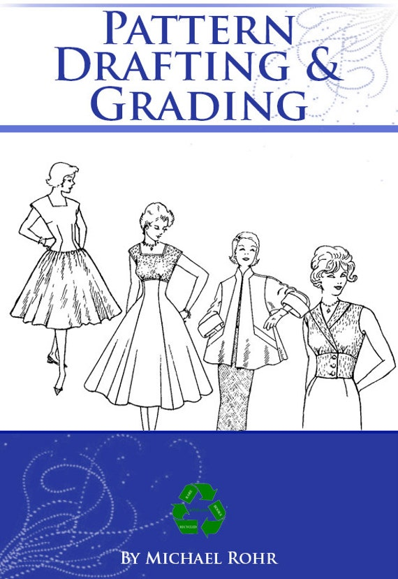 PATTERN DRAFTING And GRADING 40s Patterns Book Design Etsy Mesmerizing 1960s Patterns