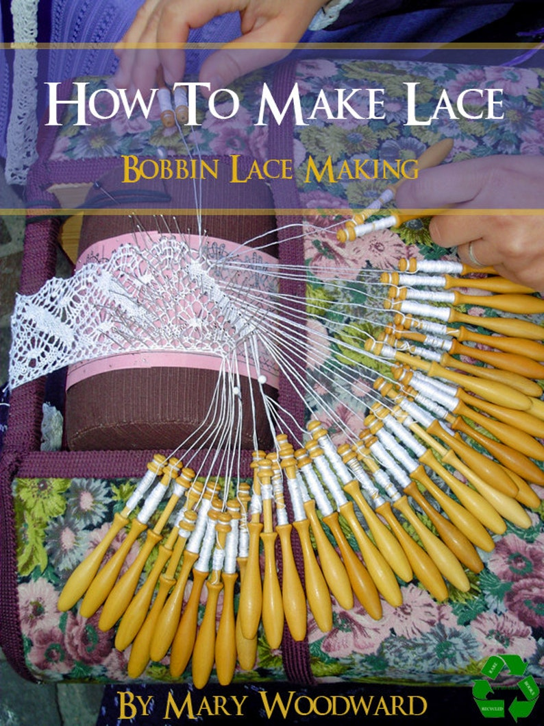 How To MAKE LACE Bobbin Lace Making 97 Pages Instructions Plus image 0