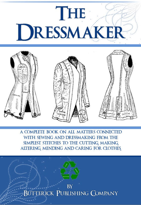 Design Your Own Clothes With The Dressmaker A Complete Book On Etsy